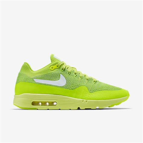 Sneakers Nike Air Max 1 Flyknit Volt nike air max 1 ultra flyknit volt 127 97 free shipping sneaker