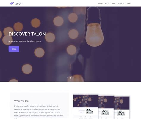 best free themes responsive 20 best free responsive themes and templates 2018