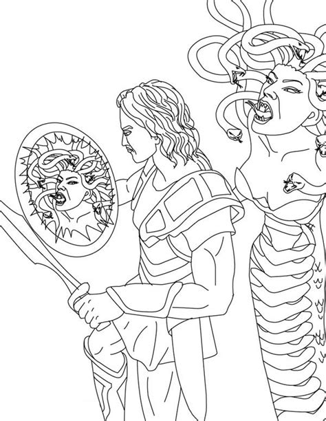 perseus and medusa for kids www pixshark com images