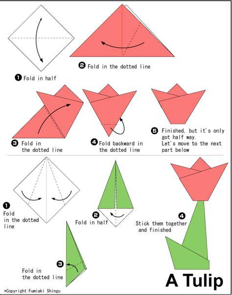 2d origami flower aprende hacer figuras de papel taringa