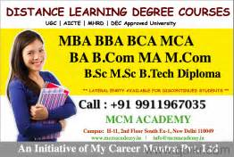 Distance Mba Courses In Mumbai by Distance Learning Courses Graduation Post Graduation In