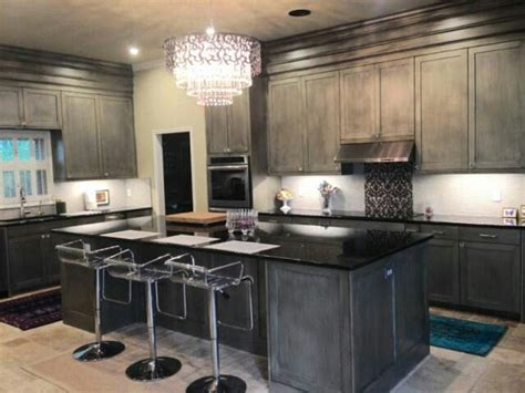 Metallic Kitchen Cabinets Metallic Silver Kitchen Cabinets By Simonson Cabinets Silver Kitchen