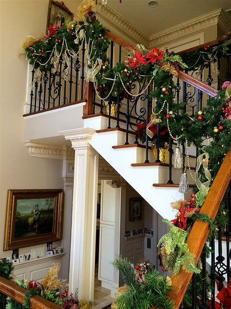 decorating ideas for the holidays 23 gorgeous staircase decorating ideas