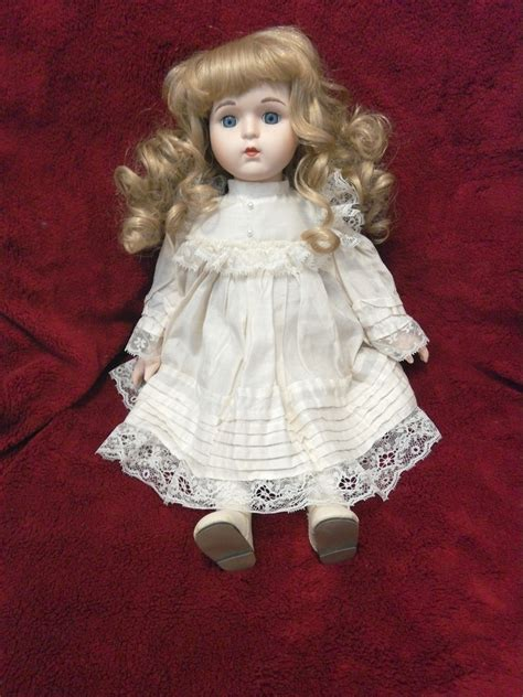 porcelain doll with beautiful porcelain doll collectors weekly