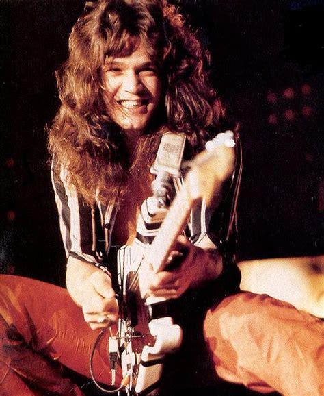 eddie van halen long hair 1979 eddie van halen men that rock long hair rock my