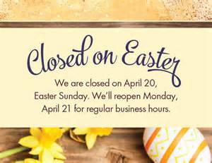 All stores closed for easter kimberton whole foods
