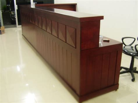 Meja Custom jual frontdesk meja kasir meja cs custom furniture