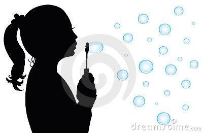 silhouette   girl stock image image