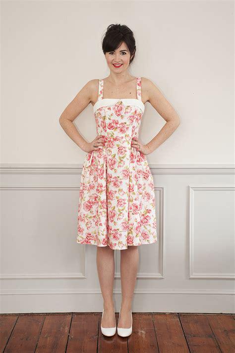 sew   rosie dress sewing pattern sew