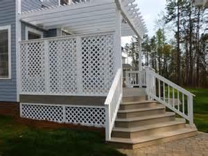 creative deck ideas creative lattice ideas for your deck