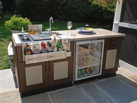 Prefab Kitchen Islands outdoor bars design gadgets and party tips entertaining