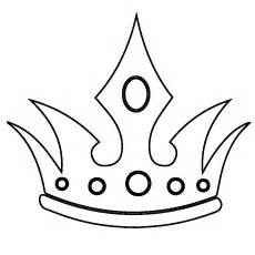 simple crown coloring page simple crowns drawings www pixshark com images