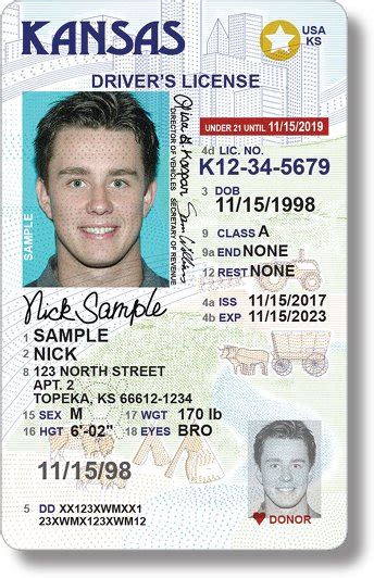 missouri id card template new driver s license design in kansas to comply with