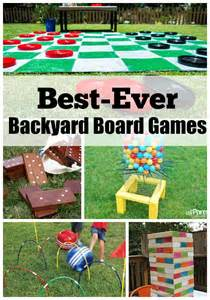 Backyard Olympic Games For Kids Best Ever Backyard Board Games