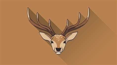 Illustrator Speed Drawing illustrator deer icon speed drawing