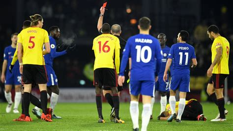 chelsea watford highlights watford 4 1 chelsea match report highlights