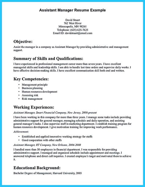 Objective For A Assistant Resume by Writing A Great Assistant Property Manager Resume