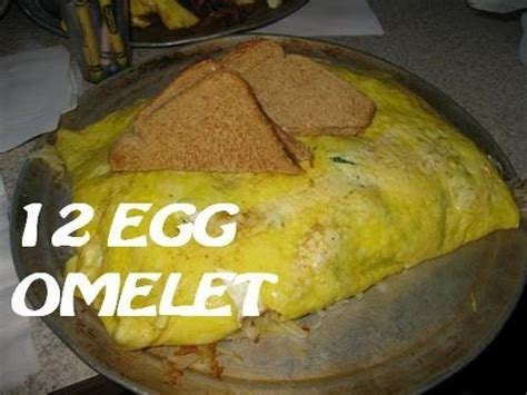 Beths Challenge Do by Beth S Cafe 12 Egg Omelet Challenge With Cult Moo