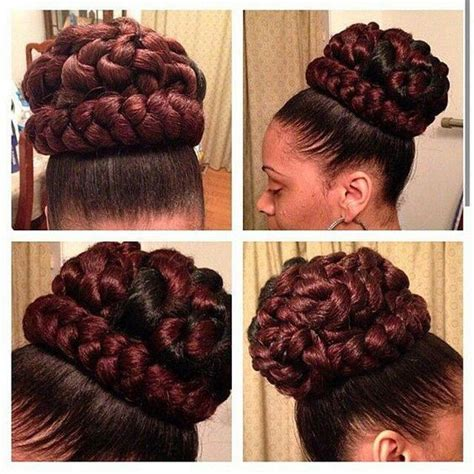 kanekalon for buns beautiful faux bun and ps on pinterest