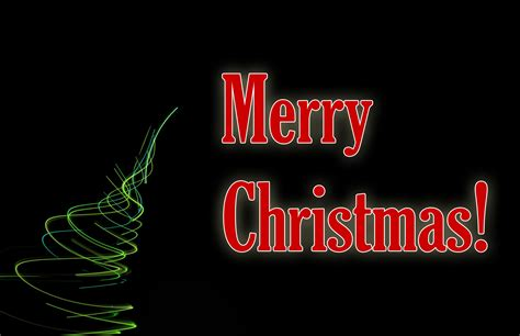 photo  merry christmas light   dark background  christmas images