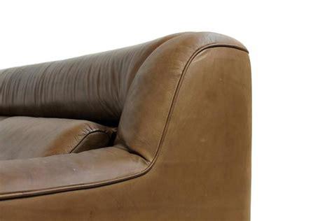 lounge sofa leder vintage 1970s de sede ds 43 cognac leather lounge sofa at