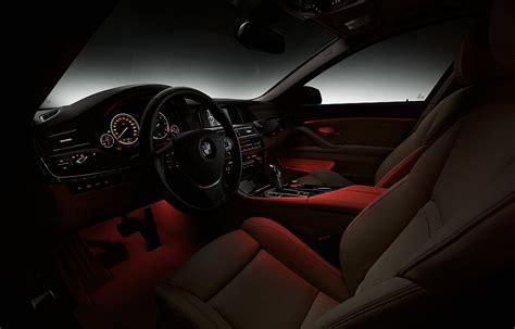 2014 BMW 5 Series Interior Ambient Lighting   egmCarTech