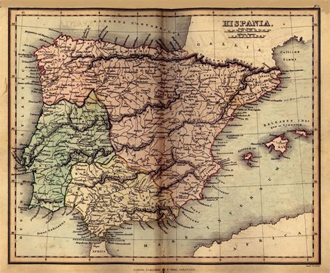 historical maps spain maps perry casta 241 eda map collection ut library
