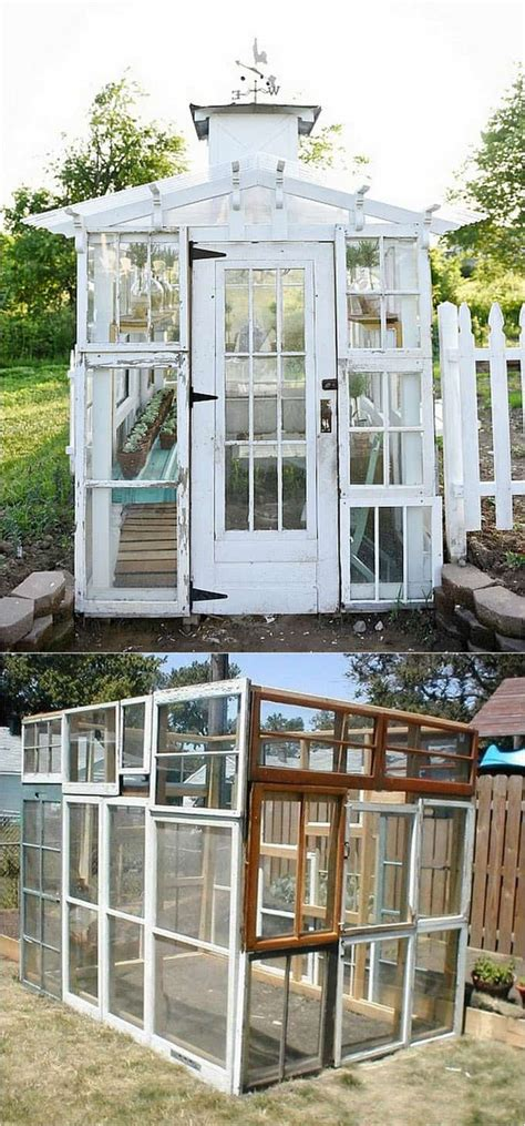 beautiful diy shed ideas  reclaimed windows