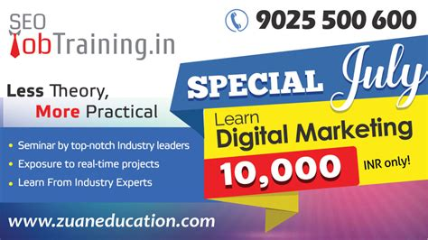 Courses On Digital Marketing 2 by Special July At Seo Seo