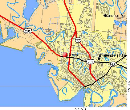 brownsville zip code map 78520 zip code brownsville profile homes