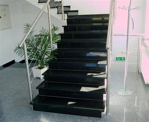 Granite Stairs Design China Black Granite Stair Ct 365 China Black Granite Stairs Stairs