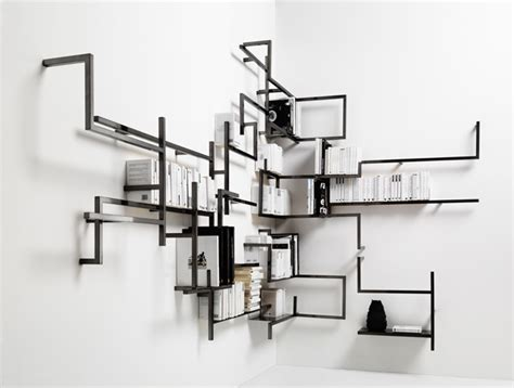 Lu Gantung Minimalis Modern 1 room collection block shelving by kyuhyung cho and erik