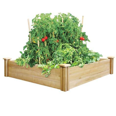 raised garden beds garden center  home depot