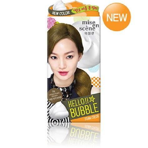 bubble b foaming hair color mise en scene easy speedy foam bubble self hair color dye