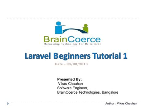 tutorial to learn laravel laravel beginners tutorial 1