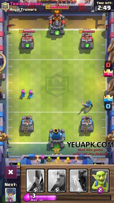 Id Clash Royale Sby 1 clash royale hd mod v 224 ng v 224 cương coins gems cho android