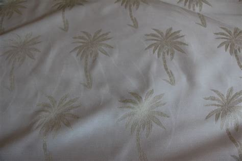 palm tree upholstery fabric tropical island palm tree off white upholstery fabric bty