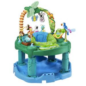 fisher price rainforest exersaucer baba g me evenflo exersaucer jungle