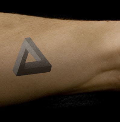 tattoo infinity triangle penrose triangle concept tattoo by lemonmouth on