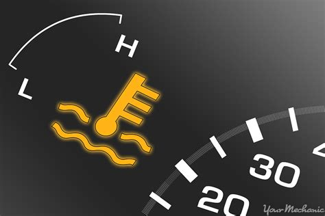 engine temperature warning light what does the coolant temperature warning light mean