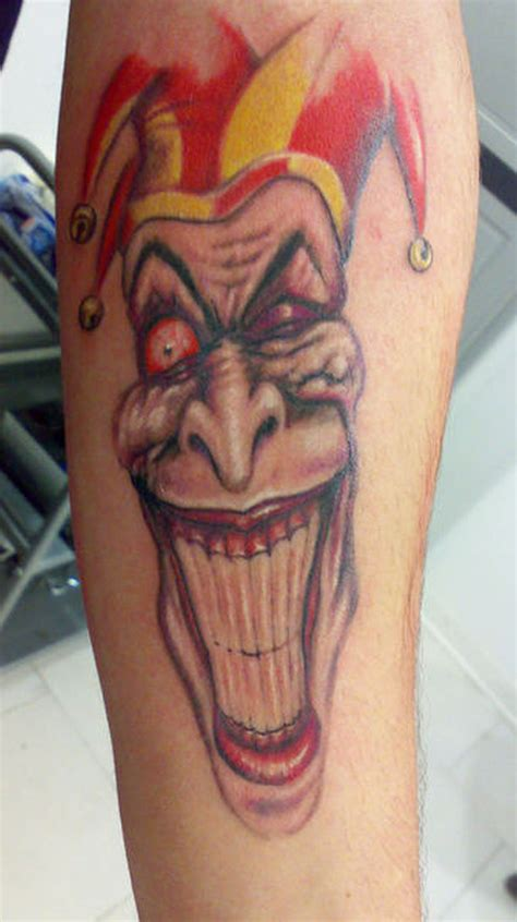 joker teeth tattoo white teeth joker clown tattoo design tattoos book 65
