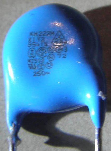 capacitor parts identification  cap mov  ntc