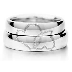 promise rings uk matching couples sterling silver gold plated promise rings set yoyoon 9682