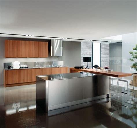 Sleek Kitchen Design 21 Sleek And Modern Metal Kitchen Designs