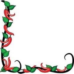 Italian Chef Kitchen Accessories - chili peppers clipart image chili pepper border polyvore