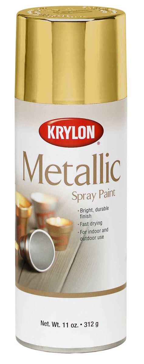 spray painting brass krylon general purpose metallic spray paint brass 12 oz