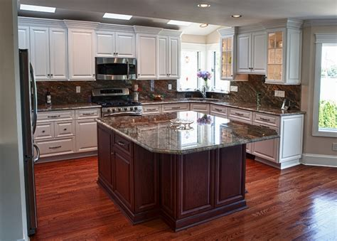 a customised centre island with custom center island kitchen end results kps