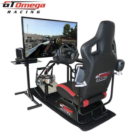 gt omega pro racing simulator professional rs6 seat