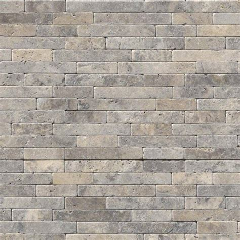 silver ash tumbled veneer 8x18 travertine backsplash wall tile