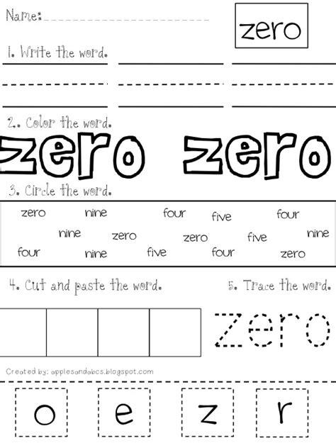 printable numbers in words number word printable apples and abc s